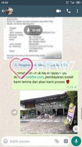 Testimonial Pelanggan Karangan Bunga - LoveFTW